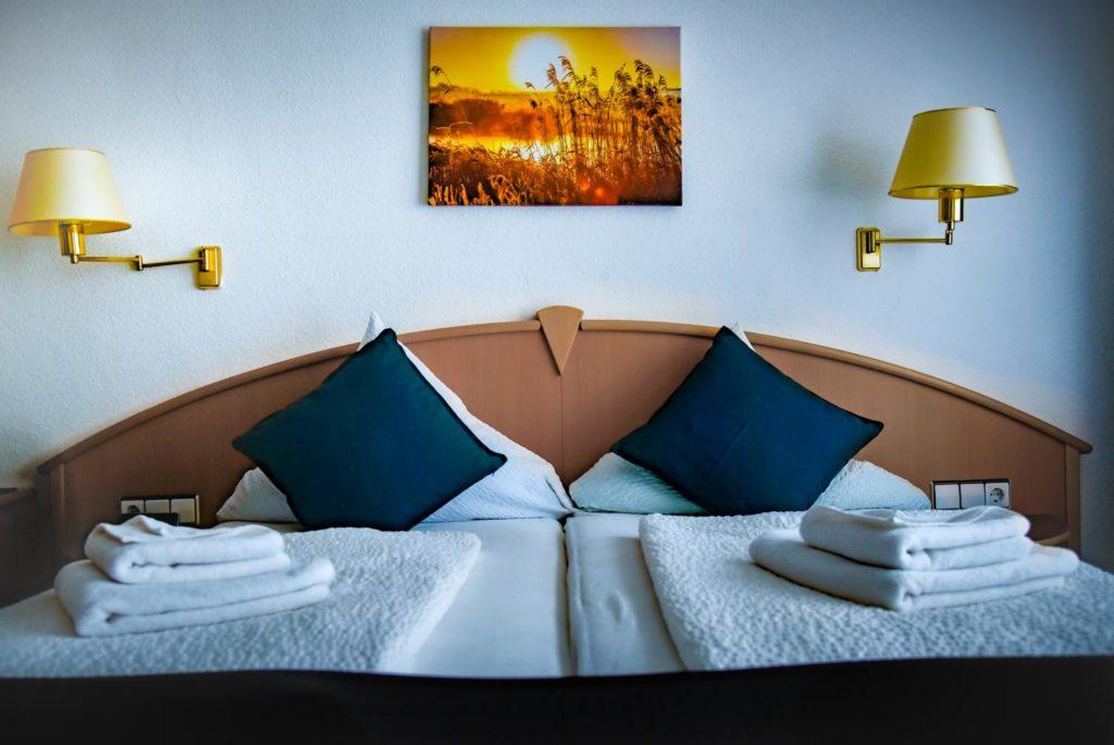 Doppelzimmer in der Pension Brenz, Sontheim